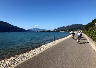 Retour au bord du lac :-)