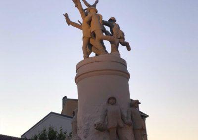Monument aux morts d'Aix les bains