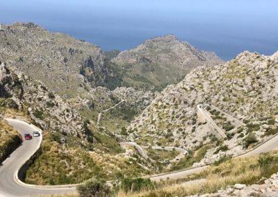 La descente sur SaCalobra.